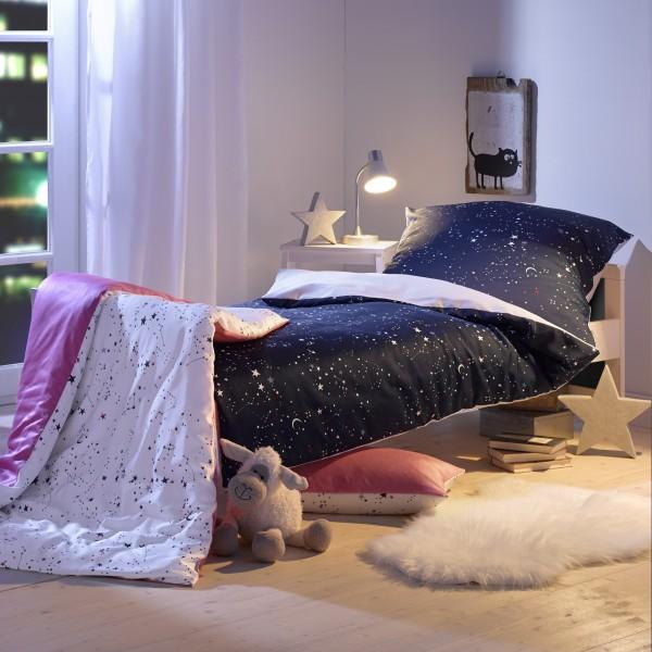 Kinder Bettwäsche Sternenhimmel