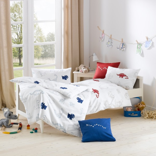 Kinder Bettwäsche Dino