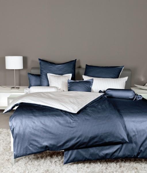 Bettwäsche Maco - Satin Wende nachtschattenblau