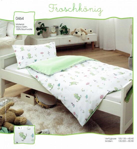 Kinder Bettwäsche Froschkönig