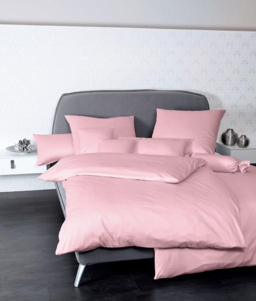 Bettwäsche Maco - Satin einfarbig uni - rosa
